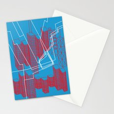 Chicago EL Train Stationery Cards