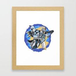 Rex&Cody Framed Art Print