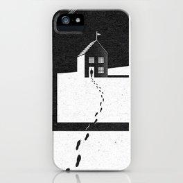 Walking Home/Deposit NY iPhone Case