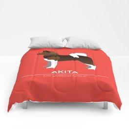 Akita Comforters