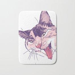 Wassup Calico Kitty! Bath Mat