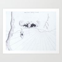 Pencil - 0008 - WWWLand Art Print