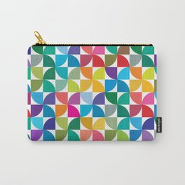 Geometrical work - Colours rotation Carry-All Pouch