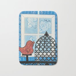 I Want To Fly Too Bath Mat