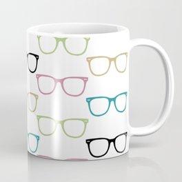 Colorful Funky Glasses Coffee Mug