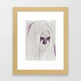 NaNoDrawMo 2012 - 19 Framed Art Print
