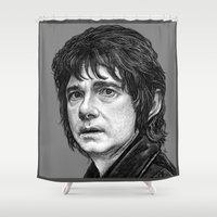 hobbit Shower Curtains featuring HOBBIT by zinakorotkova