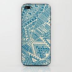 Tribal (blue)  iPhone & iPod Skin