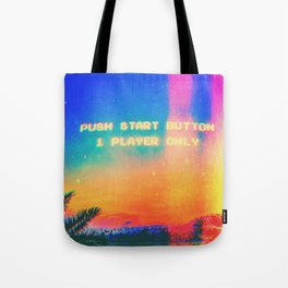 Single Player Tote Bag