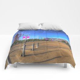 West Ham Olympic Stadium And The Arcelormittal Orbit  Comforters