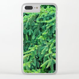 Norway Spruce III Clear iPhone Case