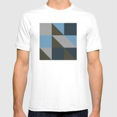 #149 United shapes of geometry – Geometry Daily MEDIUM Mens Fitted Tee White