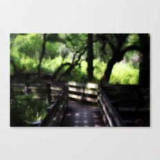 Fork in the road Canvas Print