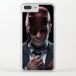 Daredevil Clear iPhone Case