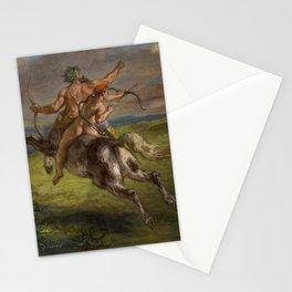 "Eugène Delacroix ""The Education of Achilles"" Stationery Cards"