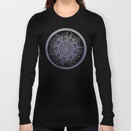 Lavender Nature Mandala Long Sleeve T-shirt