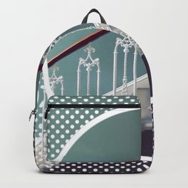 Stairway to heaven - dot circle graphic Backpack