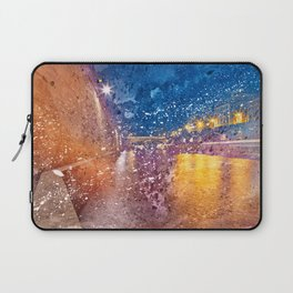 Acrylic Lights of Paris Laptop Sleeve