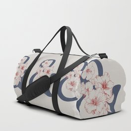 Hibiscus Ampersand Duffle Bag