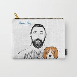 Beard Boy Pup 1 Carry-All Pouch