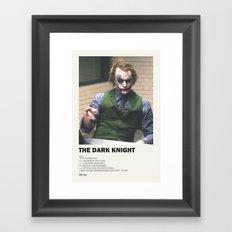 Dark Interrogation Framed Art Print