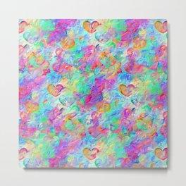 Precious hearts Metal Print