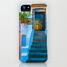 Oia's house iPhone Case