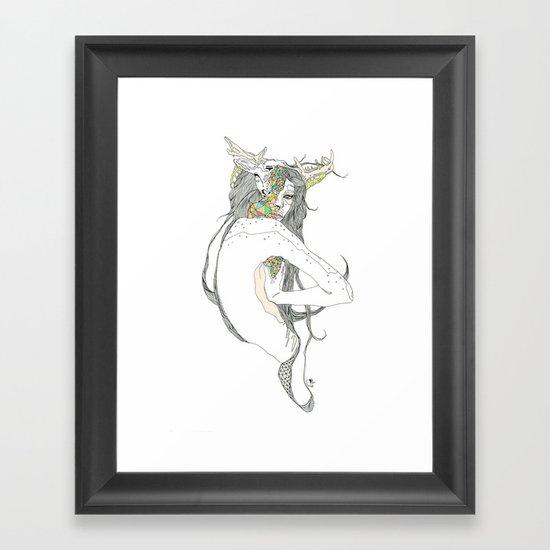 colour blind II Framed Art Print