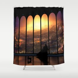 The Overseer Shower Curtain
