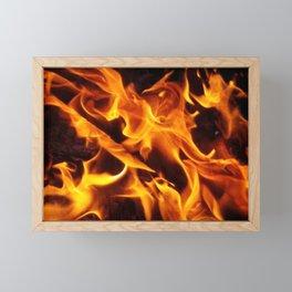 Fire Phoenix Framed Mini Art Print