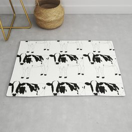 Cow Pattern Rug