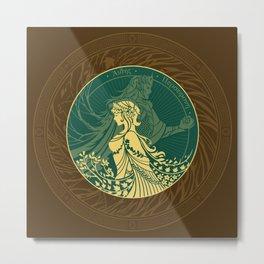 Hades and Persephone Metal Print