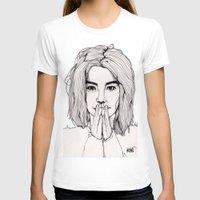 bjork T-shirts featuring Bjork by Paul Nelson-Esch Art