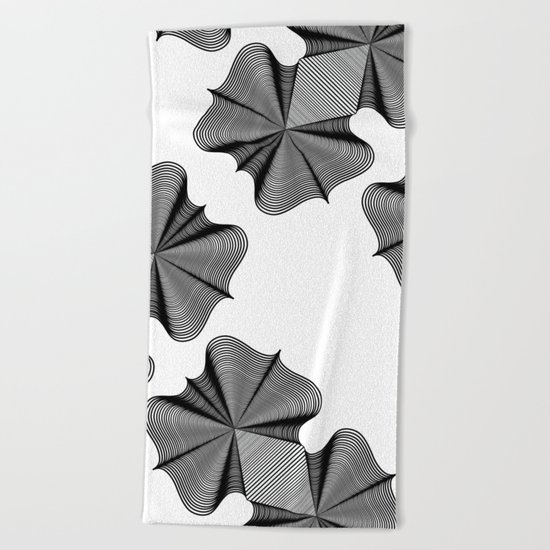 In Two Places at Once Beach Towel