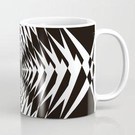 Trippy in BW Coffee Mug