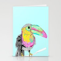 toucan Stationery Cards featuring Toucan by caseysplace