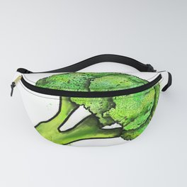 Broccoli Painting Eat Your Veggies Series Fanny Pack