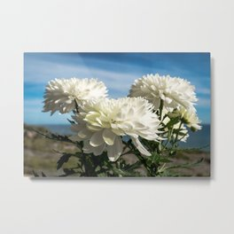 Naturally Floral Metal Print