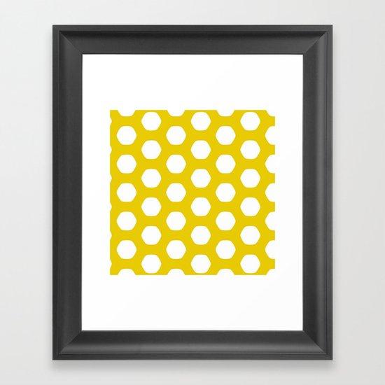 Paulsen Yellow Framed Art Print