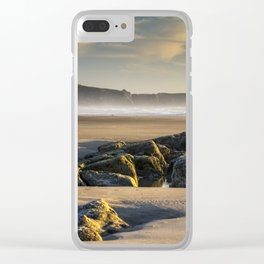 Moolack and Yaquina Clear iPhone Case