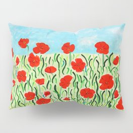 Everything's Popping Up Poppies! Pillow Sham