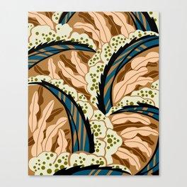 BALINESIA: BIG SKY RANCH, Art Deco Tropical Canvas Print