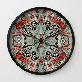 Folklore Creatures Wall Clock