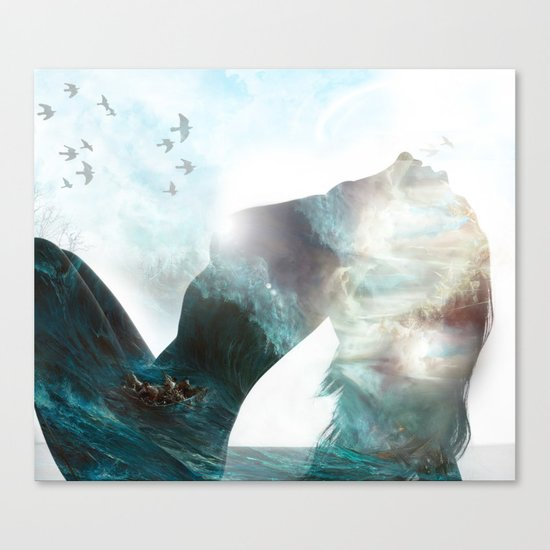 Inner Storm Canvas Print