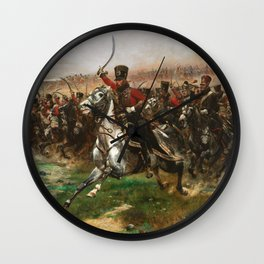 Edouard Detaille - Vive Lempereur Wall Clock