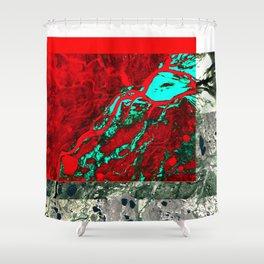 Tundrascape I Shower Curtain