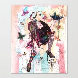 Delirium, The Sandman Canvas Print