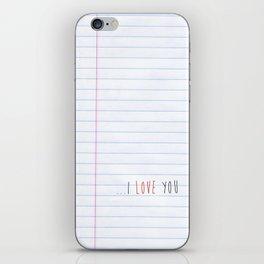 ...I Love you iPhone Skin