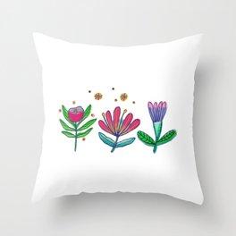 Little Garden Throw Pillow