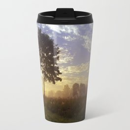 One summer day (wide) Travel Mug